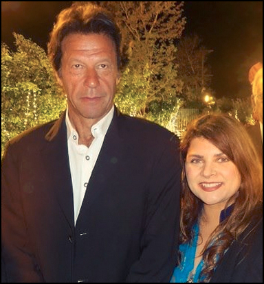 Imran Khan, Chairman Pakistan Tehreek Insaf