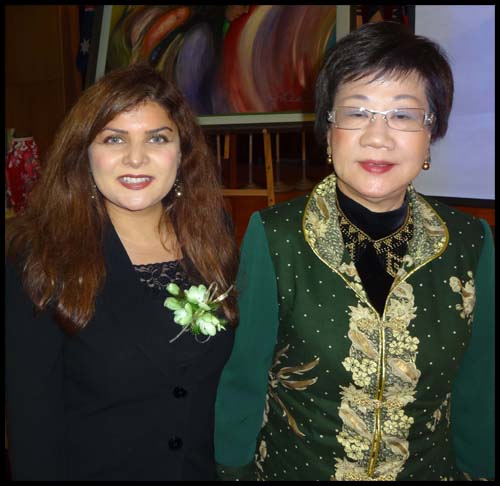 Madam Annette Lu (Vice President Taiwan 2000 to 2008)