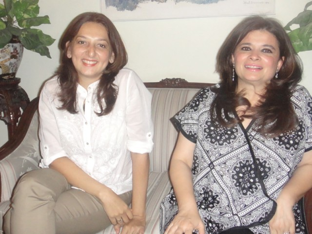 Muna Siddiqui and Naila Naqvi